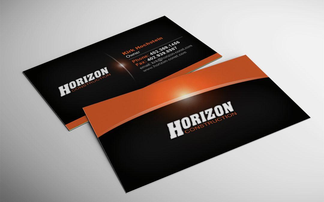 Horizon Construction Business Card