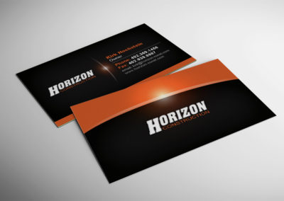 Horizon Construction Business Card
