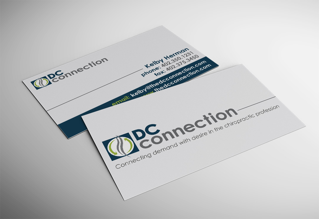Dc connection business card networking plus colourmoves