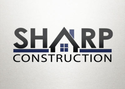 Sharp Construction Company Logo