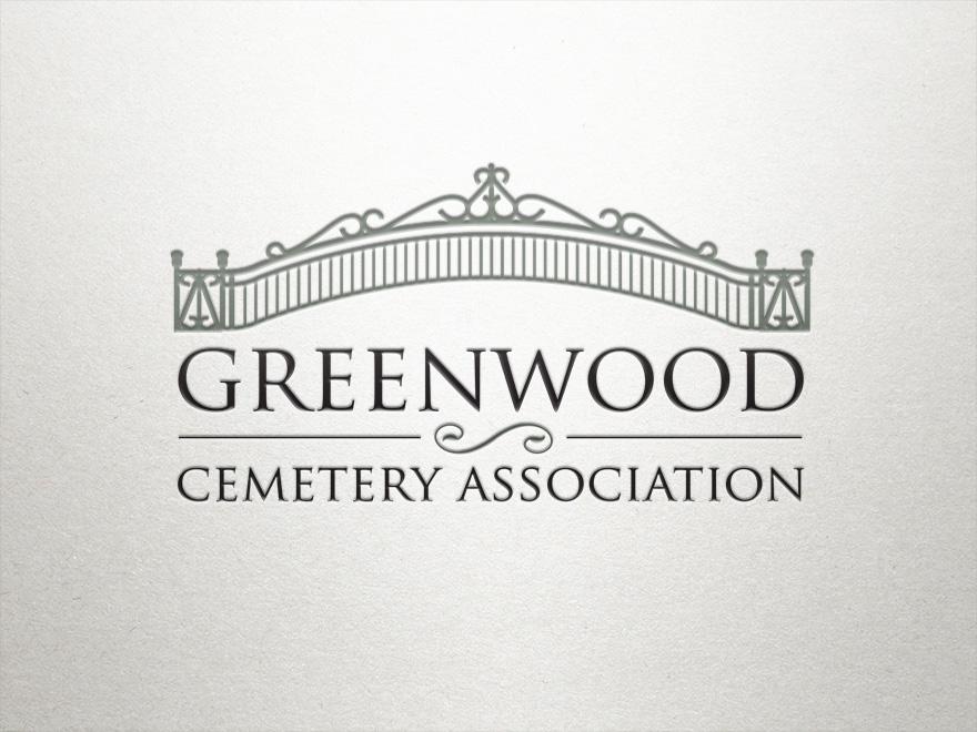 greenwood cemetery logo networking plus rh networking plus net Entrance Gate Clip Art Ranch Entrance Gates