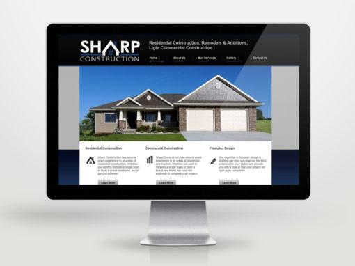 Sharp Construction Website