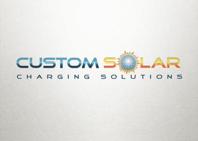 Custom Solar Logo