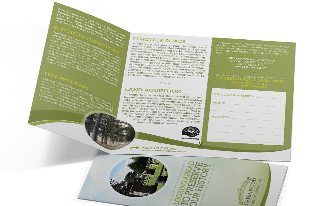 Cemetery Direct-Mail Brochure