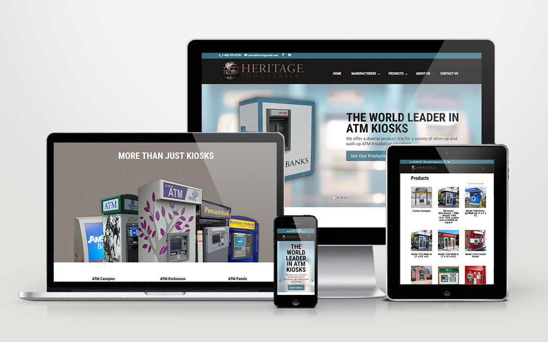 Heritage Industries Website